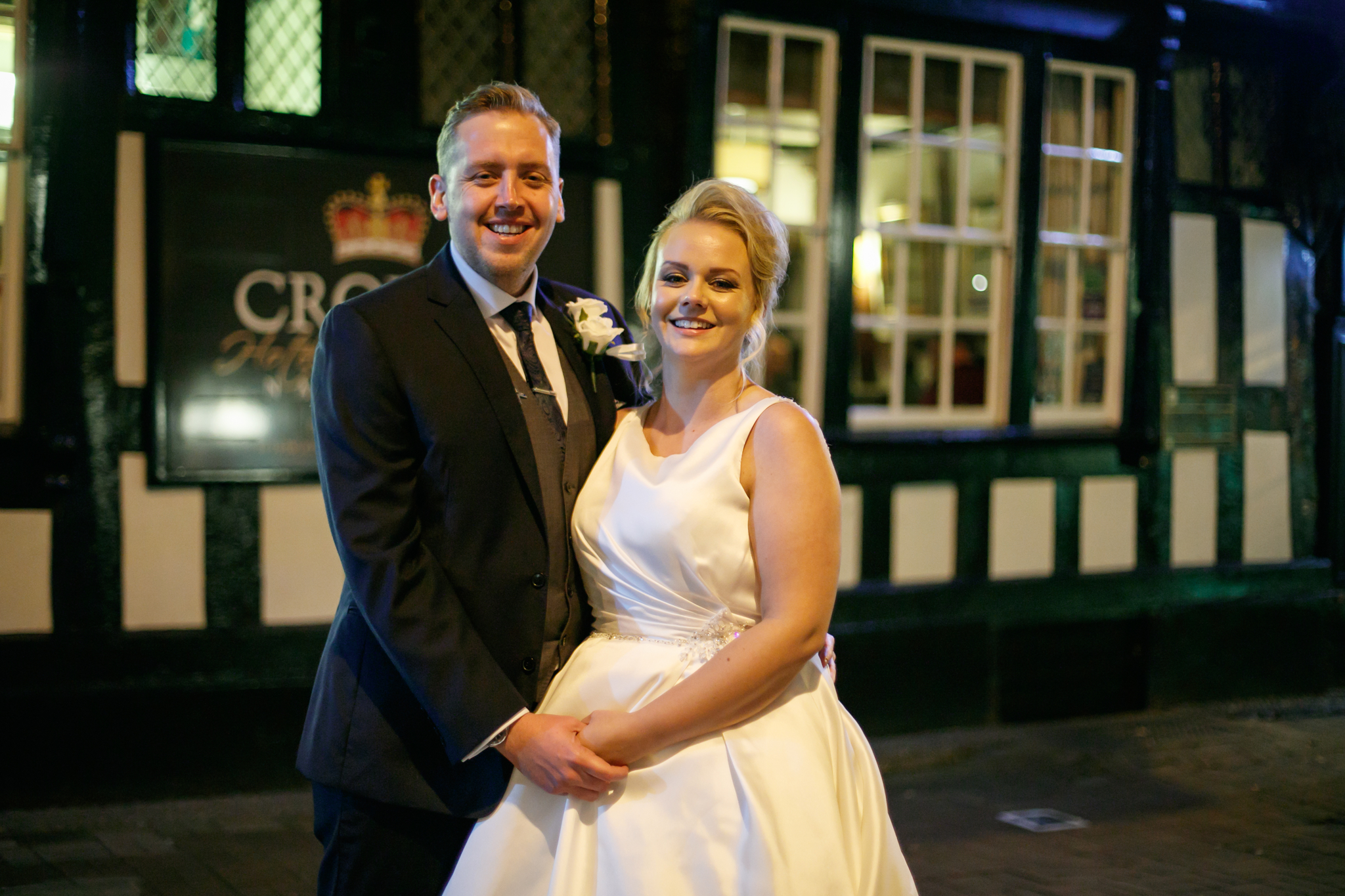 Crown Hotel Nantwich Wedding Photography