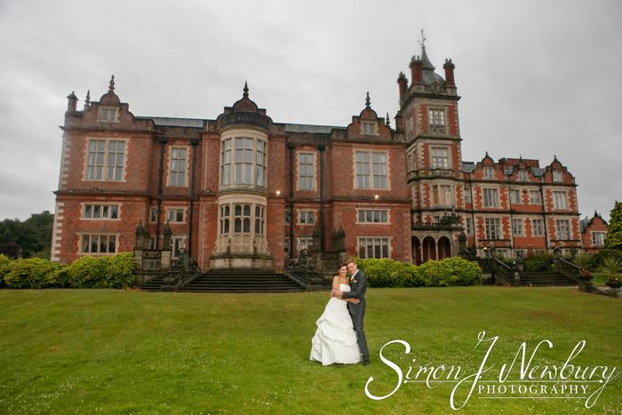 Crewe Hall Hotel wedding photography