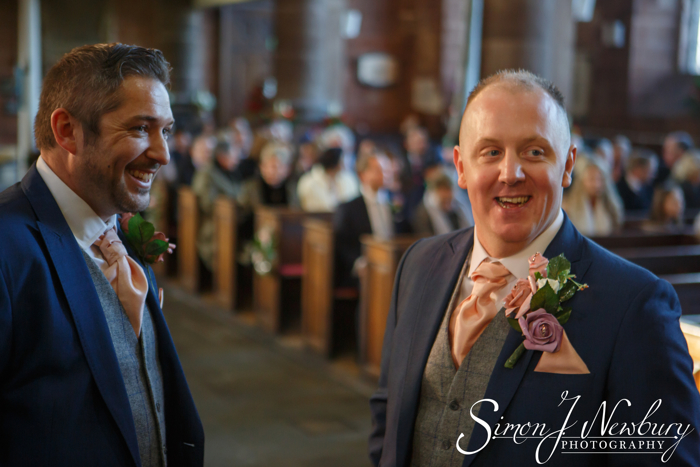 St Alkmunds Church Whitchurch wedding photographer