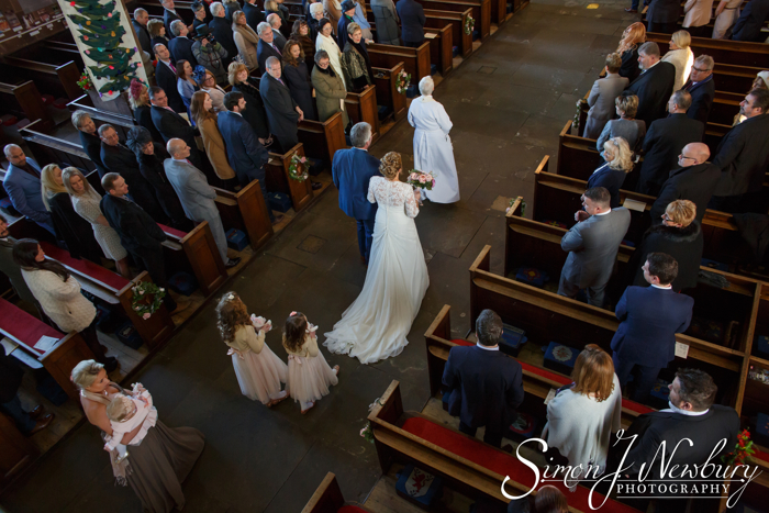 St Alkmunds Church Whitchurch wedding photography