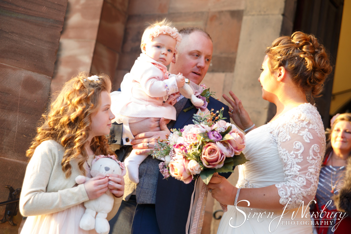 St Alkmunds Church wedding photography