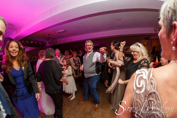 Whitchurch Wedding night Photography