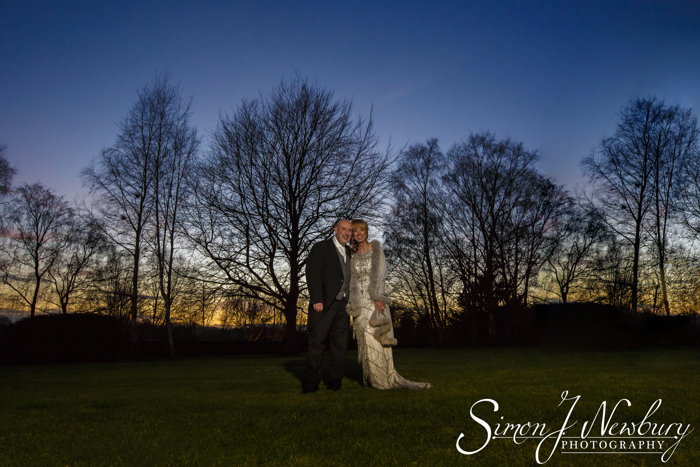 Crewe Hall night Wedding Photography