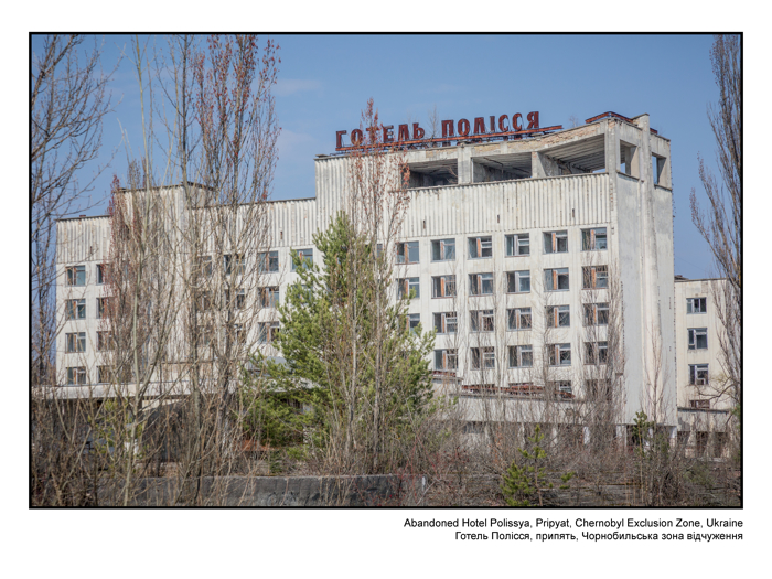Photos from The Chernobyl Exclusion Zone