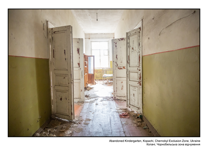 Abandoned Kindergarten, Kopachi, Chernobyl Exclusion Zone, Ukraine 1