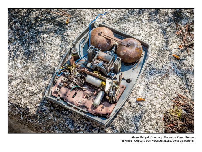 Alarm. Pripyat, Chernobyl Exclusion Zone, Ukraine