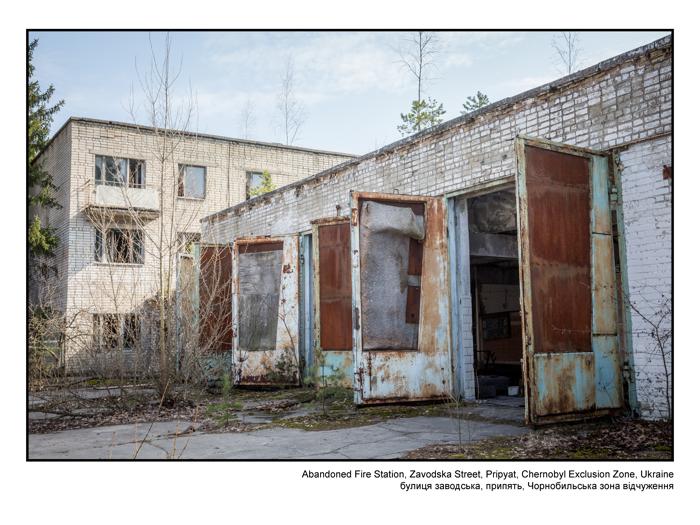 Abandoned Fire Station, Zavodska Street, Pripyat
