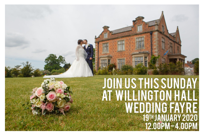 Wedding Photography at Willington Hall in Cheshire