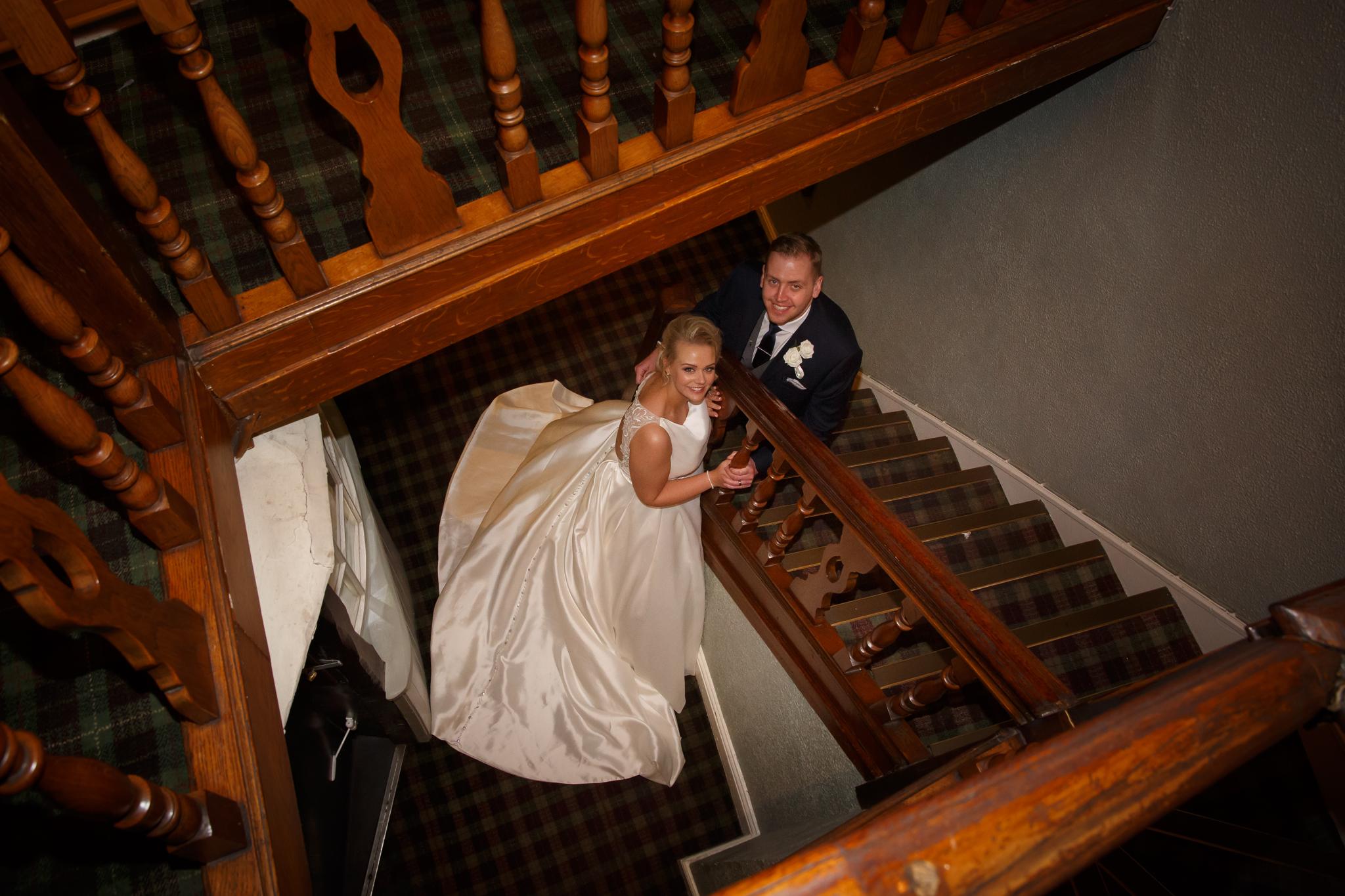 Crown Hotel Nantwich Wedding Photographer